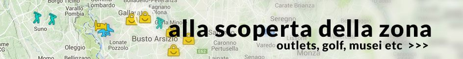 Scopri la zona - outlets, golf, musei...
