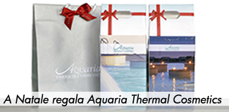 Nuova linea cosmetica Aquaria Thermal Cosmetics