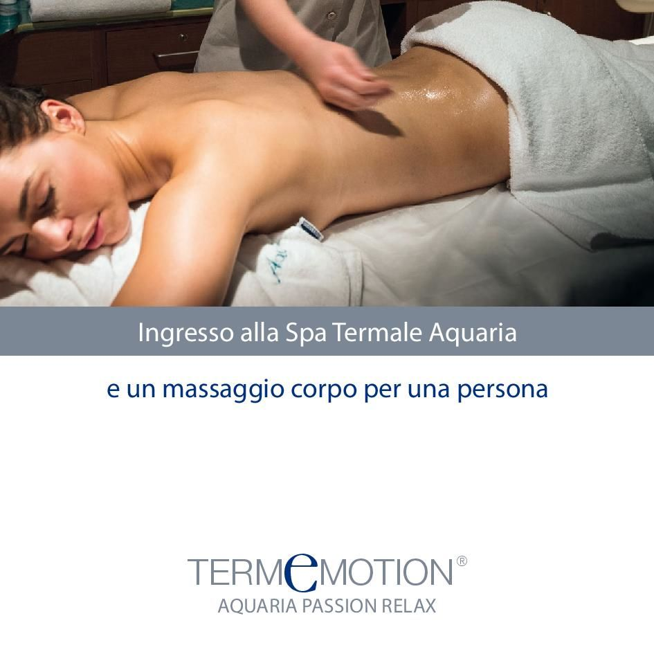 Voucher Termemotion Aquaria Passion Relax