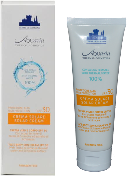 Crema Solare SPF 30 Aquaria Thermal Cosmetics