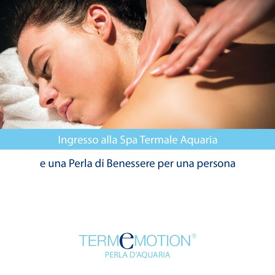 Voucher Termemotion Perla d'Aquaria